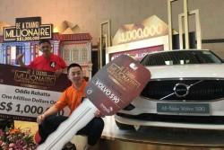 Asyik, Pelancong Indonesia Menangkan Lucky Draw Rp10 M di Bandara Changi
