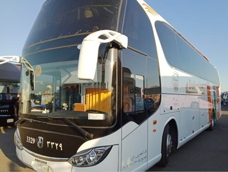 1.400 Bus Siap Angkut Jamaah Haji Indonesia dari Madinah