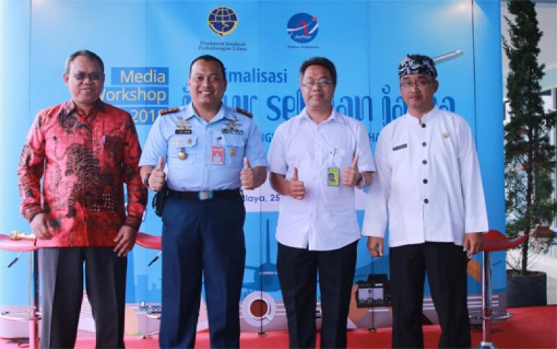 AirNav Optimalisasi Jalur Penerbangan Selatan Jawa