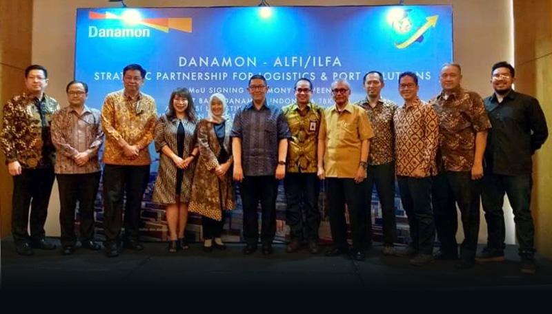 ALFI Gandeng Bank Danamon Indonesia Untuk Percepat Smart Port & Smart Logistic