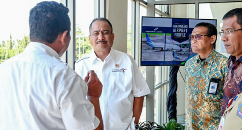 Bandara Sam Ratulangi Diyakini Percepat Kemajuan Pariwisata KEK Likupang Sulut