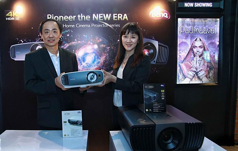 BenQ Luncur Proyektor 4K UHD HDR, Hadirkan Home Cinema Bagi Pengguna