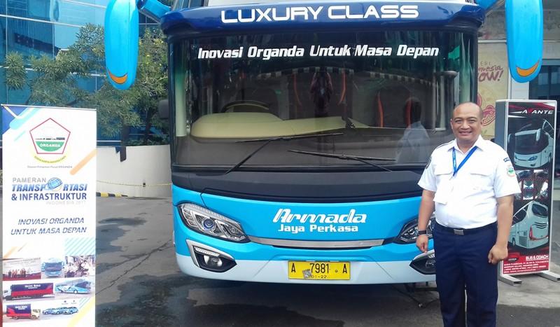Bus Organda Masa Depan, Mejeng di Pameran Transportasi 2017