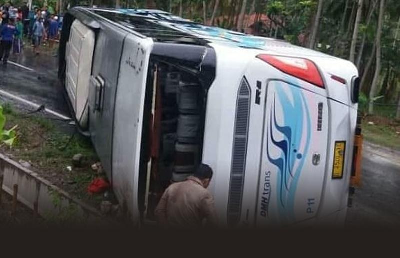 Jasa Raharja Akan Santuni Korban Kecelakaan Bus di Kalipucung