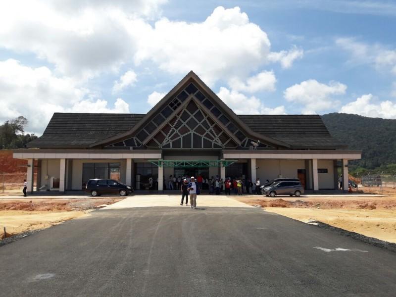 Kesiapan Bandara Letung Menjadi Pintu Gerbang Kepulauan  Anambas