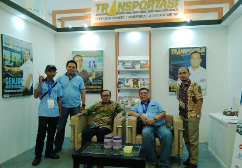 Kunjungi Booth Majalah Transportasi di Pameran Transportasi & Infrastruktur Indonesia 2017