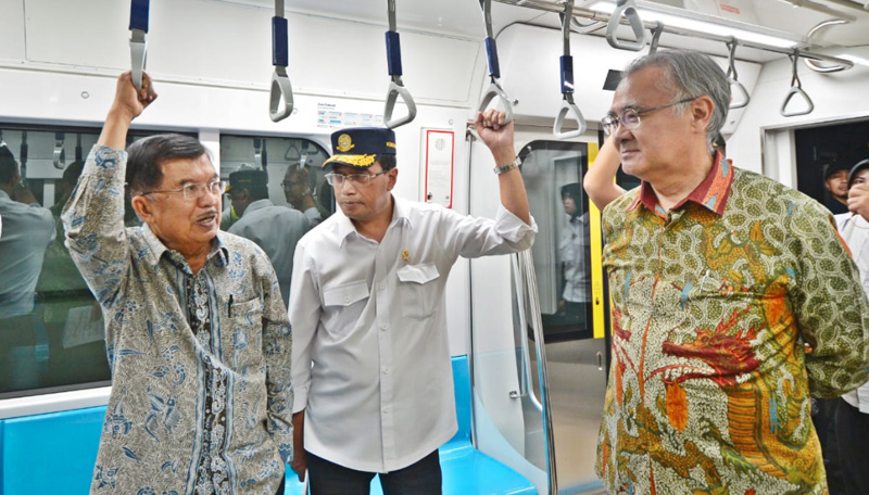 MRT Fase II Siap Dibangun Maret 2019