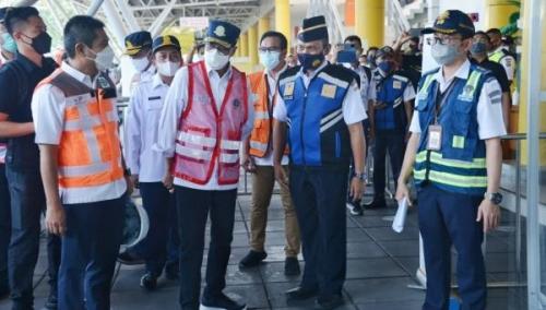 Pergerakan Angkutan Logistik di Pelabuhan Tanjung Priok Meningkat