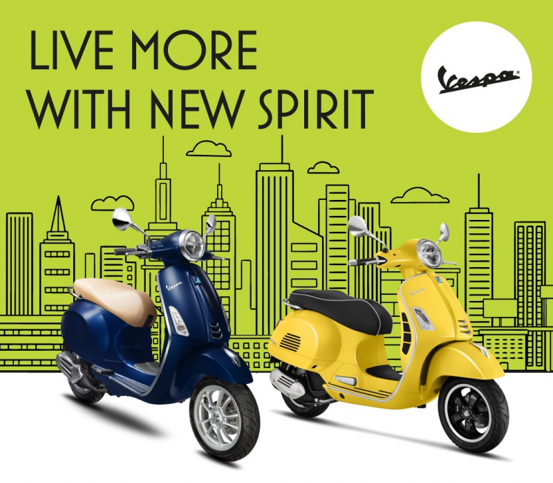 "Piaggio Indonesia Kembali Gelarl ""Live More with New Spirit"""