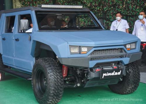 Pindad Perkenalkan Inovasi Kendaraan Terbaru, MV2 4x4 Pindad