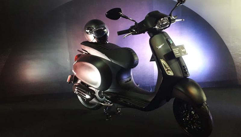 PT Piaggio Indonesia Memperkenalkan Vespa Sprint Notte Edisi Terbatas