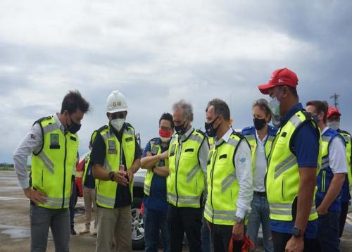 Sambut MotoGP, Dorna Sports Cek Kesiapan Bandara Lombok