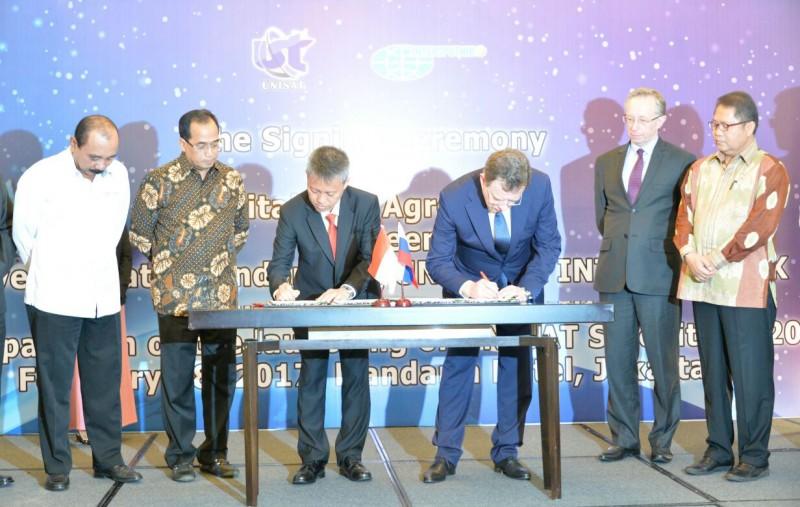 Satelit UNISAT 2020 Dukung IT Sektor Transportasi