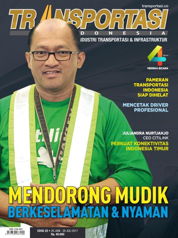 Telah Terbit Majalah Transportasi Indonesia Edisi 25