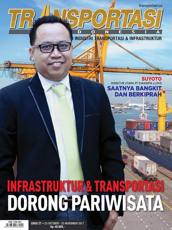 TELAH TERBIT MAJALAH TRANSPORTASI INDONESIA EDISI 27
