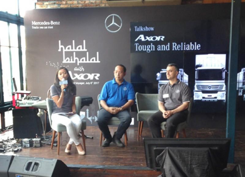 Truk Axor Mercedes-Benz Bakal Diproduksi dan Siap Mengaspal di Indonesia